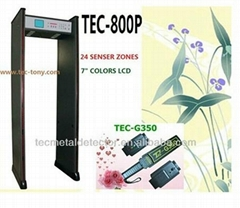 Body Scanner Security Entrance Door TEC- 800P