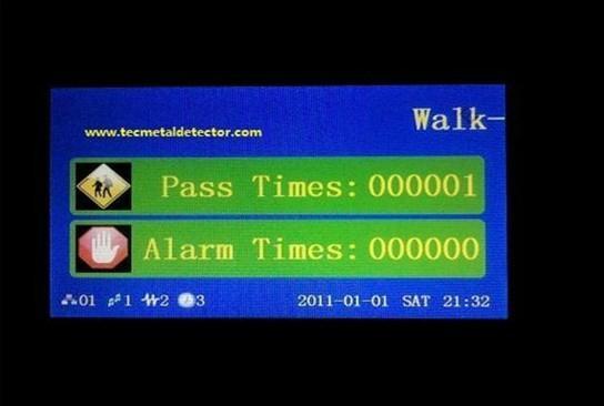 Body Scanner Security Entrance Door TEC- 800P 2