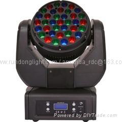 New 37*3W RGB CREE LED Moving Head Wash Light