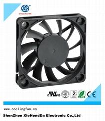 60*60mm low noise big air flow 5v 12v 24v dc fan