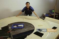 CNC Plastic Prototyping Model