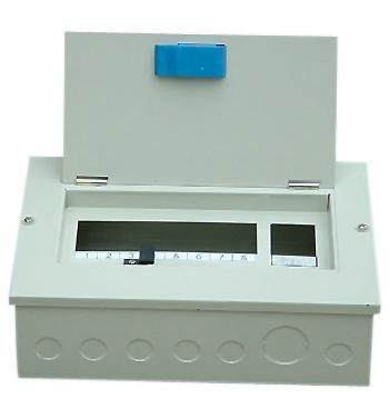 单相导轨式插入式配电箱 1