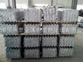 Hot dip galvanized steel angles