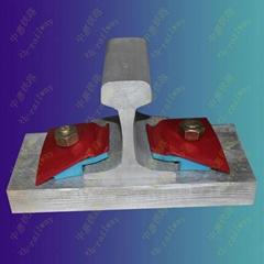 Nabla rail fastening system with low price