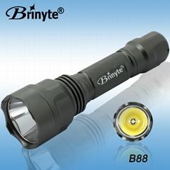 B88 IP66 Waterproof CREE XML U2 Emergency Torch Light