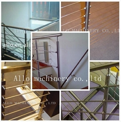 stainless steel 304 or 316 railing