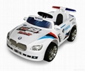 Kids Ride On Remote Control Car Toys with Music,Front Working Lights  1