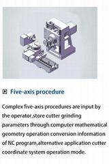 Five-axis procedure