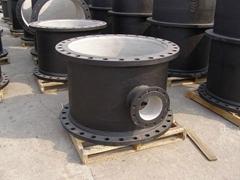 ductile iron tee di tee fittings pipe fittings