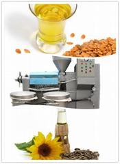 Integrated screw oil pre