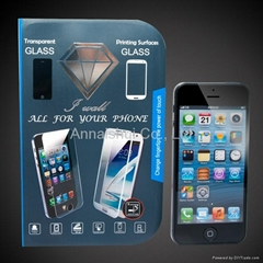 tempered glass screen protector for cellphone