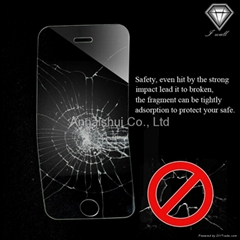 anti collision tempered glass screen protector