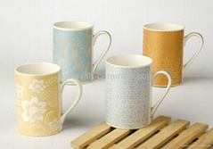 Sublimation color changed mugs