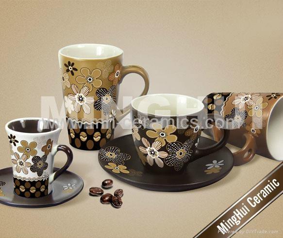 各色咖啡牛奶杯碟 3