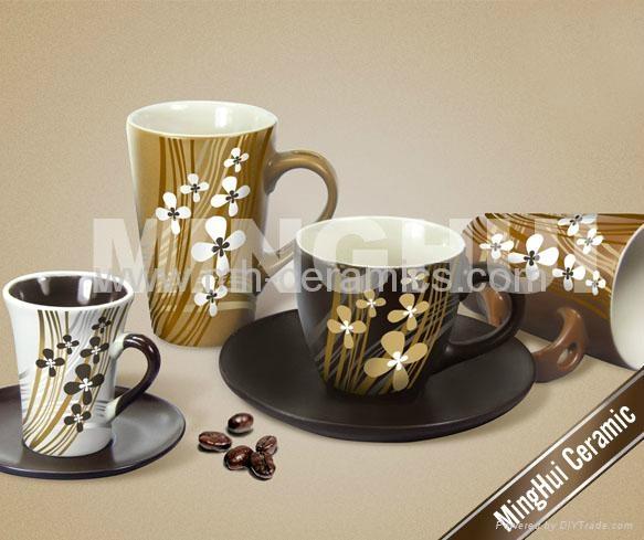 各色咖啡牛奶杯碟 4