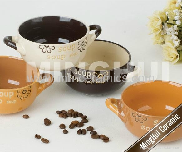 two handles soup mugs - MH41 - MH (China Manufacturer) - Tableware ...
