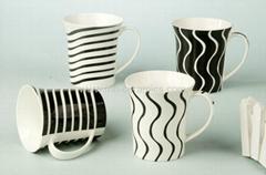 ceramic coffee mugs with silk screen