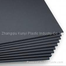 High Quality Waterproof Black PVC Foam Board