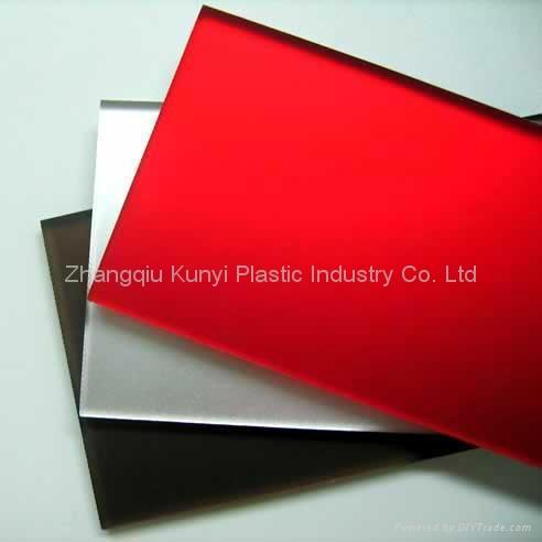 High Quality PMMA Cast Acrylic Sheet 1