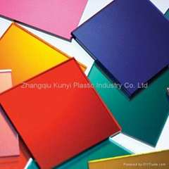 High Quality PMMA Cast Color Acrylic Sheet