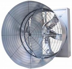 centrifugal shutter style fan