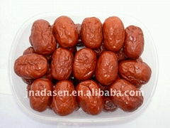 Red dates drying and sterilization microwave oven machine