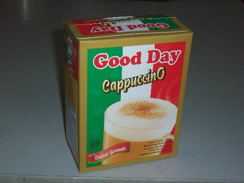 GoodDay印尼进口卡布奇诺口味速溶咖啡 1