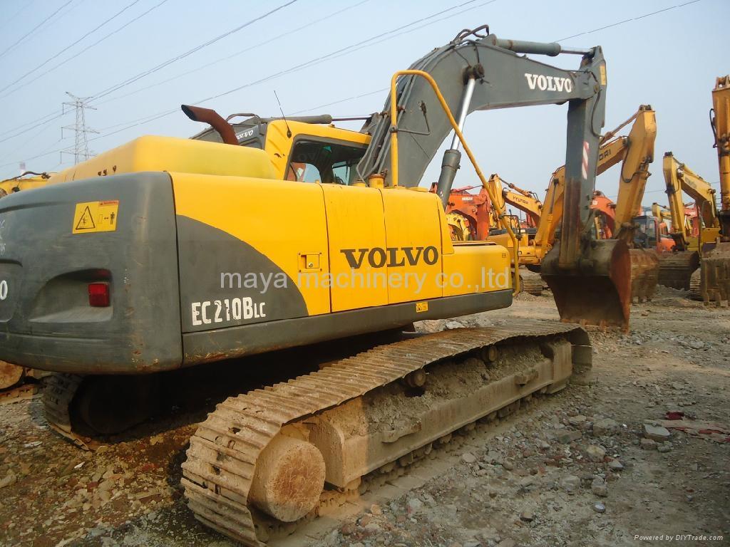used excavator volvo EC210BLC - VOLVO (China Trading Company) - Construction Machine ...
