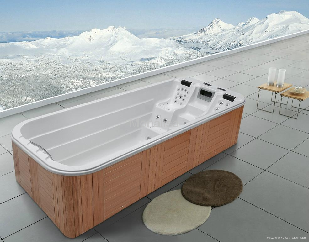 Monalisa large and deep jacuzzi hot tub with 51 jets M-3350 (China ...