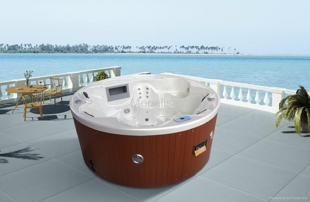 monalisa 6 person outdoor round hot tub m 3356 china manufacturer shower room shower. Black Bedroom Furniture Sets. Home Design Ideas