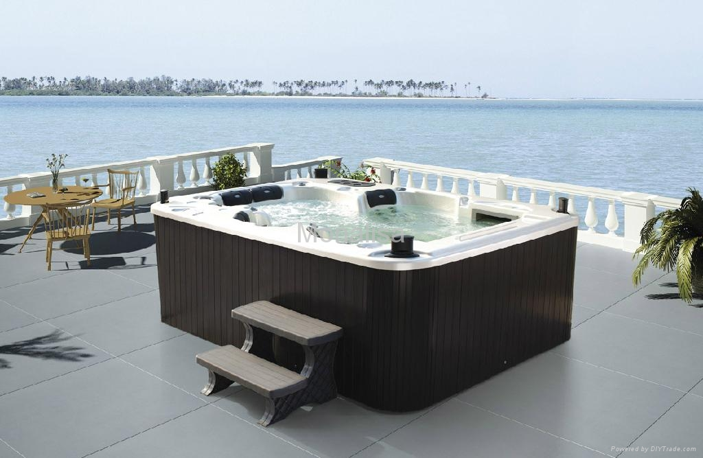 TV,DVD stereo swim spa hot tub with 111 jets M-3307 - Monalisa ...