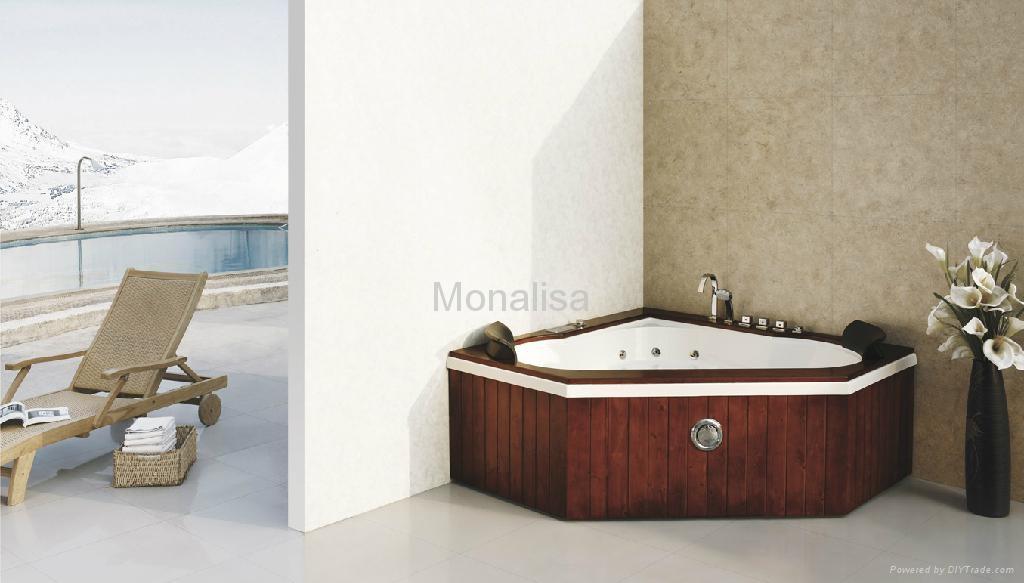 Bồn tắm góc phòng tắm Monalisa với hem M-2035A 1