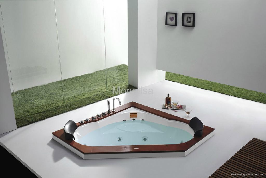 Bồn tắm góc phòng tắm Monalisa với hem M-2035A 2