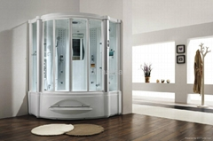 Monalisa computer steam shower room with hot tub jacuzzi M-8208
