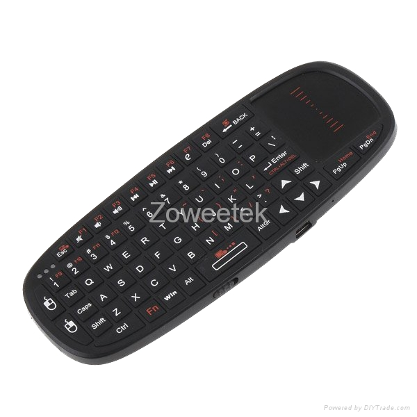 Mini USB Keyboard For Ipad Wireless Keyboard With Touchpad 2