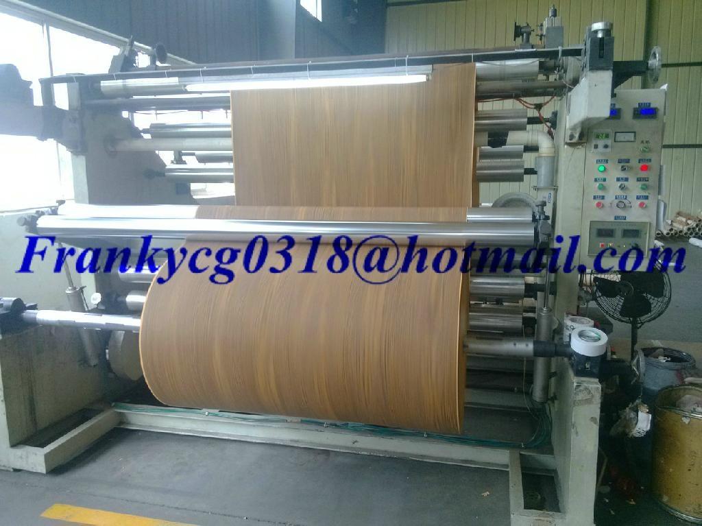 Woodgrain furniture foil decorative paper for mdf hpl for Furniture decoration paper