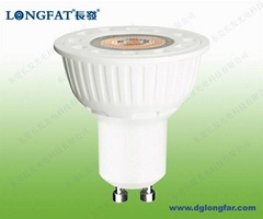 GU10 6W LED Spotlight wi