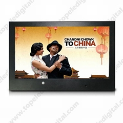 15.6 inch digital video hd media player lcd advertising display