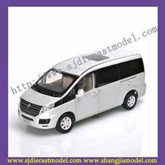 1:18 JAC diecast car model|MPV cars diecast|metal car model toy