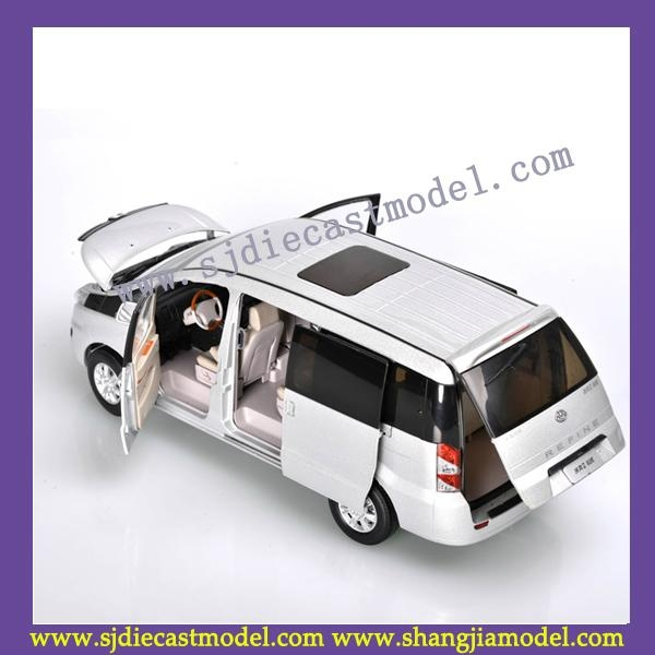 1:18 JAC diecast car model|MPV cars diecast|metal car model toy 4