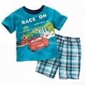 boy sets T shirt with short sleeve