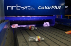color sorter for PET plastic by NRT