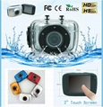 """HD 2"""" Touch Screen Waterproof Action"""