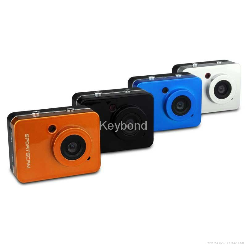 Full HD Touch Screen Waterproof Sport Camera with Remote Control 1