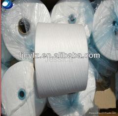 Ring spun polyester yarn 40s1