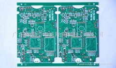 Green oil multilayer circuit board