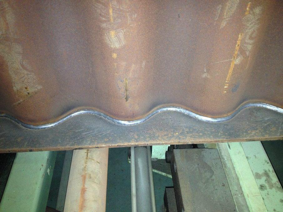 波形鋼腹板焊機 2