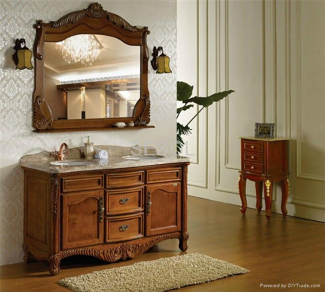 Antique Style Bathroom Furniture Cabinets ... - Antique Style Bathroom Furniture Cabinets - 304 - Sesol (China
