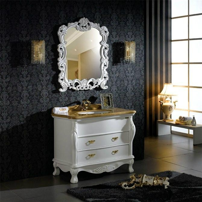 Classic White Antique Hotel Bathroom Furniture unite 1 ... - Classic White Antique Hotel Bathroom Furniture Unite - 305 - Sesol