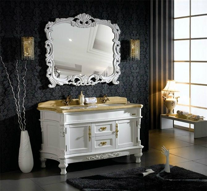 Classic White Antique Hotel Bathroom Furniture Unite 305